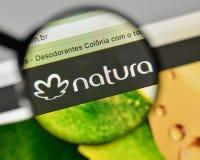 Free Milan, Italy - November 1, 2017: Natura Cosmeticos SA Logo On Th Royalty Free Stock Photography - 106087347