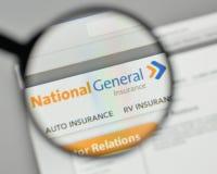 Milan, Italy - November 1, 2017: National General Holdings logo Stock Images