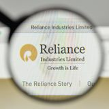 Milan, Italy - November 1, 2017: Reliance Industries logo on the. Website homepage Stock Photo