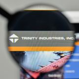 Milan, Italy - November 1, 2017: Trinity Industries logo on the. Website homepage Stock Photography