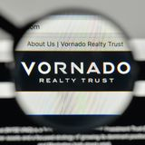 Milan, Italy - November 1, 2017: Vornado Realty Trust logo on th. E website homepage Stock Photography