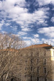 Milan (Italy): old restored houses Royalty Free Stock Photography
