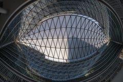 Milan Italy, Palazzo Lombardia, modern building Royalty Free Stock Photography