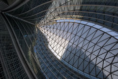 Milan Italy, Palazzo Lombardia, modern building Royalty Free Stock Photo