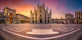 Milan, Italy. royalty free stock images