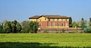 Milan Italy: Parco Nord Stock Photo