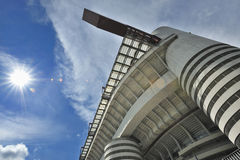 Milan, Italy, San Siro football stadium Royalty Free Stock Photos