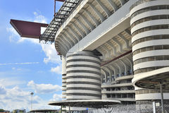 Milan, Italy, San Siro football stadium Stock Images