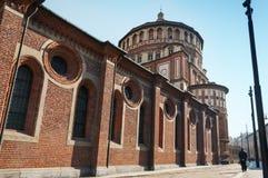 MIlan, Italy. Santa Maria delle Grazie vector illustration