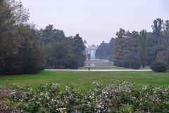 Milan Italy: Sempione-Park am Fall Lizenzfreies Stockbild