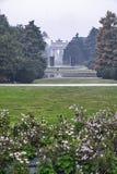 Milan Italy: Sempione-Park am Fall Stockbilder