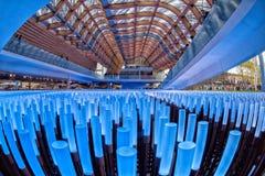 MILAN, ITALY - 17 SEPTEMBER 2015 - Last day of exhibition Stock Photos