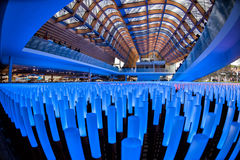 MILAN, ITALY - 17 SEPTEMBER 2015 - Last day of exhibition Stock Image