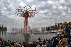 MILAN, ITALY - 17 SEPTEMBER 2015 - Last day of exhibition the tree of life show Royalty Free Stock Image