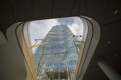 Isozaki  tower at Citylife, in Milan Stock Photo