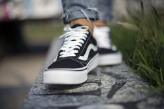 Vans Old Skool Stock Photos
