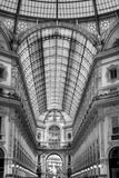 Milan Italy shopping center. Alley in the city shopping center of Milan Italy Stock Photography