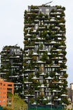 Milan, Italy, Skyscraper Vertical Forest view. Stock Photography