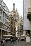 Milan Italy Street View Stock Photography