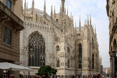 Milan Italy Street View Royalty Free Stock Photography