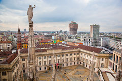 Milan, Italy. View on Royal Palace Stock Photo