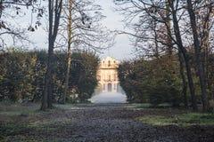 Milan Italy: Villa Arconati Royalty Free Stock Photo