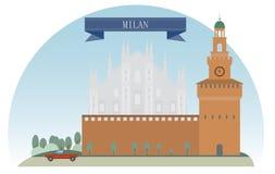 Milan. Italy. For you design Stock Photos
