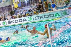 MILAN,  JANUARY  22: Sasha Sadovyy   ( 12,white cap  )   in game Stock Images