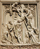 Milan - Jesus under cross - Dom gate Royalty Free Stock Image