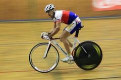 Milan Kadlec - track cycling Royalty Free Stock Images