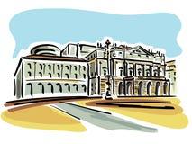 Milan (La Scala Opera House) Stock Images