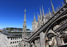 Milan, landscape royalty free stock photo