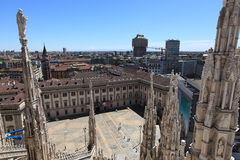 Milan, landscape Royalty Free Stock Images