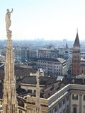 Milan landscape Royalty Free Stock Photography