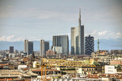 Milan Landscape, Itália Imagem de Stock Royalty Free