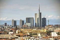Milan Landscape Italien Royaltyfri Bild