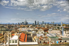 Milan Landscape, Italy Royalty Free Stock Photography