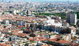 Milan, landscape view Royalty Free Stock Image