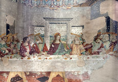 Milan - last super of Christ Stock Images