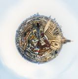 Milan little planet Royalty Free Stock Photography