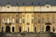Milan Lombardy, Italien: Landhaus Arconati Stockfoto