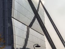 Isozaki tower at Citylife, Milan Stock Image