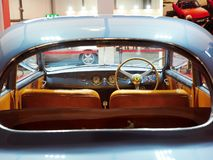 Free Milan, Lombardy Italy - November 23 , 2018 - Interior View From Rear Of A Ferrari 166 Inter Aerlux In Autoclassica Milano 2018 Stock Photography - 132406602