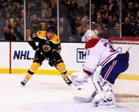 Milan Lucic Boston Bruins stock image