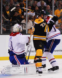 Milan Lucic, Boston Bruins adelante Fotos de archivo libres de regalías