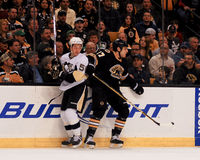 Milan Lucic, Boston Bruins in avanti Immagini Stock