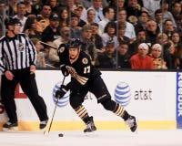 Milan Lucic, Boston Bruins in avanti Immagini Stock Libere da Diritti