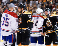 Milan Lucic, Boston Bruins in avanti Fotografie Stock