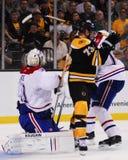 Milan Lucic, Boston Bruins en avant Photos libres de droits
