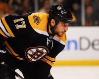 Milan Lucic, Boston Bruins en avant Photo stock